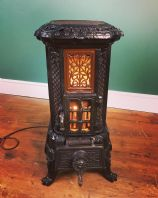 French Stove Converted to a mains Lamp